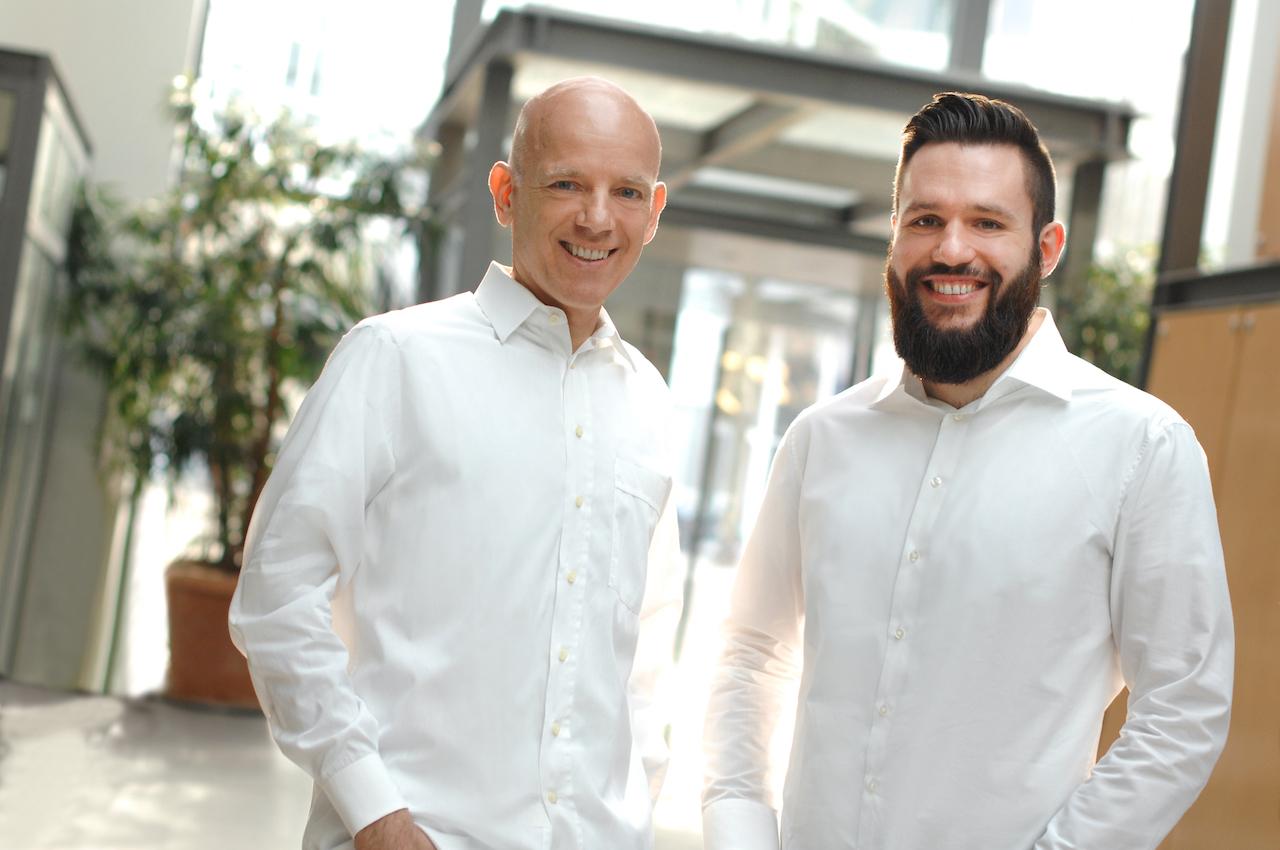 Die BEVIGO Gründer Vincent und Dirk